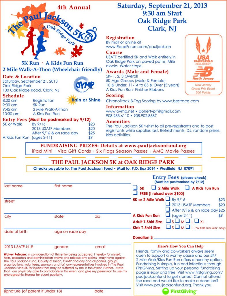 PaulJacksonFund-2013-5K-Registration