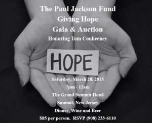 2015 PJF Giving Hope Gala & Auction